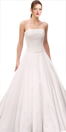 Full Skirted Strapless Bridal Gown | Wedding Dresses
