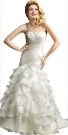 Ruffled Bridal Gown | Bridal Dresses