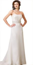 Empire Waistline Bridal Gown | Wedding Dresses