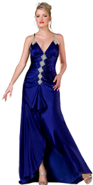 Buy Online Ruffle Detail Bridesmaid Gown