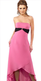 High Low Hem Feminine Dress