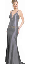 Scintillating Prom Gown
