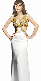 Form Fitting Prom Dress