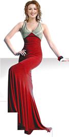 Flattering Mermaid Cut Designer gown