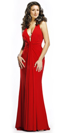 Valentines Day Gowns |Red Valentines Day Gown Collection 2010