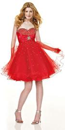 Online Knee Length Empire Waist Valentine`s Day Dress | Buy Cheap Knee Length Valentine Day Dresses