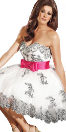 Strapless Valentines Dress