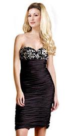 Ruching Strapless Christmas Dress |Christmas Shopping