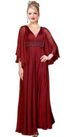 V Neckline Christmas Gown | Christmas Gowns Shopping