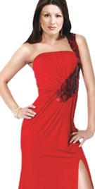 Fabulous Front Slit Christmas Dress |Shopping For Christmas Dresses