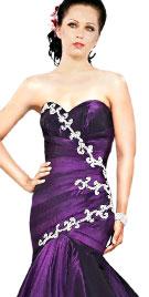 Pretty Mermaid Cut Christmas Dress | Xmas Dresses