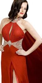 Choker Neckline Christmas Dress | Christmas Dresses