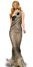 Fantastic Floor Length Christmas Gown