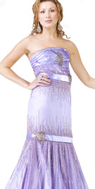 Strapless Trumpet Cut Carnival Gown   Carnival Costumes
