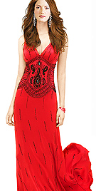 Hot N Sexy Floor Touching Designer Evening Gown