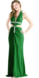 Matchless Halter Hot Designer Gown