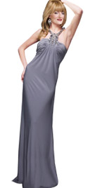 Fascinating Floor Length Fall Dress | Fall Collection 2010