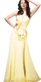 Splendid Overskirt Evening Gown   Fall Collection 2010