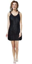 Fall Beaded Formal Dress