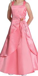 A-line Flower Girl Tulip Dress