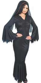 Full Length Fishtail Halloween Gown