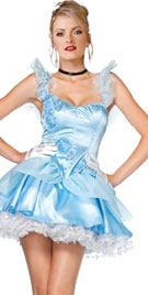 Short Tiered Halloween Dress
