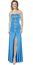 Amazing High Slit Hot Gown