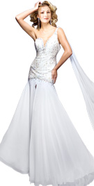 One Shoulder Independence Gown | Independent Day Collection 2010