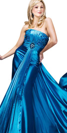Flowing Train Independence Day Gown | Independent Day Collection 2010