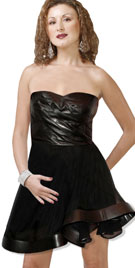 Exquisite Strapless Baby Doll Dress