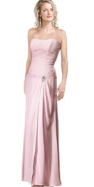 Strapless Mother Of The Bride Dress