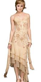 Buy Online Asymmetrical Mother Of The Bride Dress