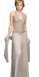 Buy Online Embellished Bodice Mother Of The Bride Attire