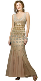 Stylish Mother's Day Gowns   Mermaid Style Mother's Day Gown