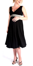 Thick Strapped Maternity Dress