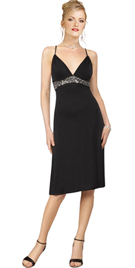New Empire Waist Beaded Daytime Dress