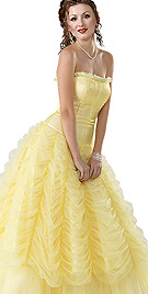 New Exclusive Off The Shoulder Ball Gown