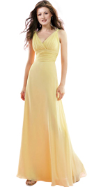 Womens Day Gowns and Dresses | Wrap Style Womens Day Gown