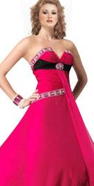Designed V Neck Gown | New Year Dresses