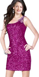 One Shoulder Prom Gown   Prom Dresses