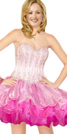 Multilayered Prom Dress | Prom Gown