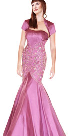 Superb Womans Mermaid Gown
