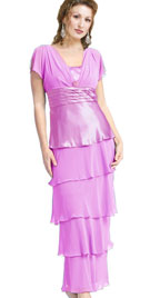 Adorable Layered Mothers Day Gown