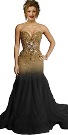 Shakira Grammy Inspired Red Carpet Dress