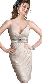 Sensual Spaghetti Strapped Knee Length Dress | Sex And City Dresses
