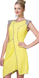Futuristic Sleeveless Dress