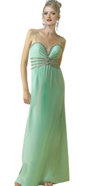 Romantic Beaded Evening Dress