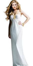 Long Stunning Summer Gown