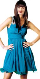 Flattering Empire Waist Summer Dress