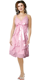 Frilly Thin Straps Summer Dress